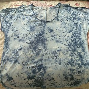 Absolutely Famous Tops - Absolutely Famous Tie Die Top